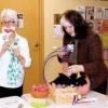 Sue Cridland, left and Sue McNeil right share some funny wisdom.