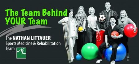 Littauer's Sports Medicine and Rehab Team will host a seminar Nov 30.