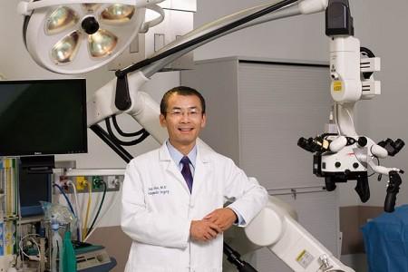 Dr. Jian Shen at Nathan Littauer