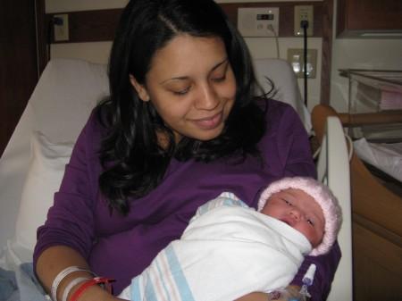 Jazlyn was born on 11/11/11