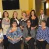 Photo by John Borgolini Ten caregivers were awarded the Gregory R. Hoye Award at Mountain Valley Hospice's 28th Annual Appreciation Celebration Friday night at the Paul Nigra Center for Creative Arts.
